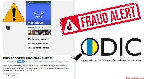 Varios estafados en Tenerife y diferentes provincias de España buscando pisos de alquiler en internet