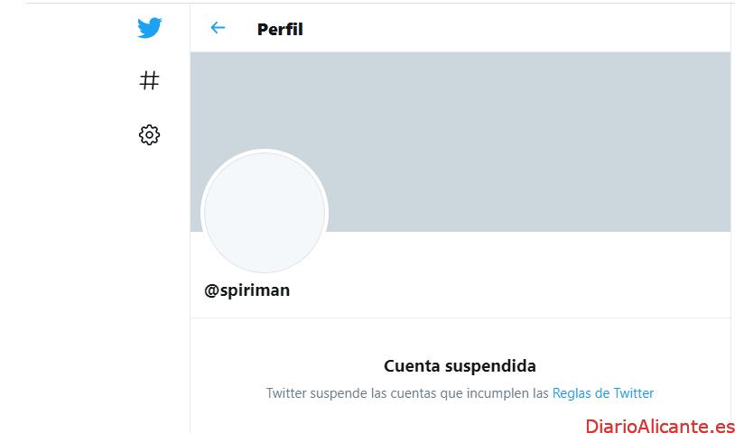 Twitter Suspende la Cuenta de Spiriman sobre el cáncer