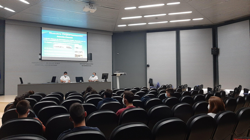 El Hospital General Universitario de Elche da la bienvenida a los estudiantes de Fisioterapia que harán sus prácticas en el centro