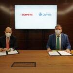 Correos ofrecerá en sus oficinas la posibilidad de contratar seguros de Mapfre