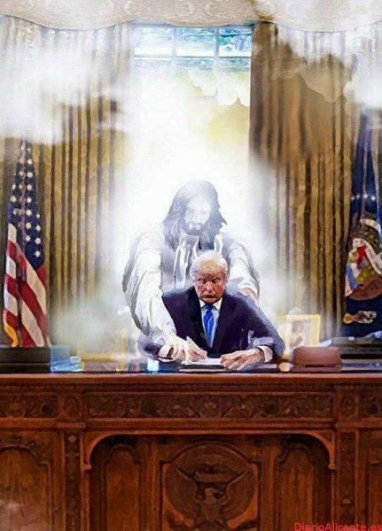 Donald Trump contra el Satanás global