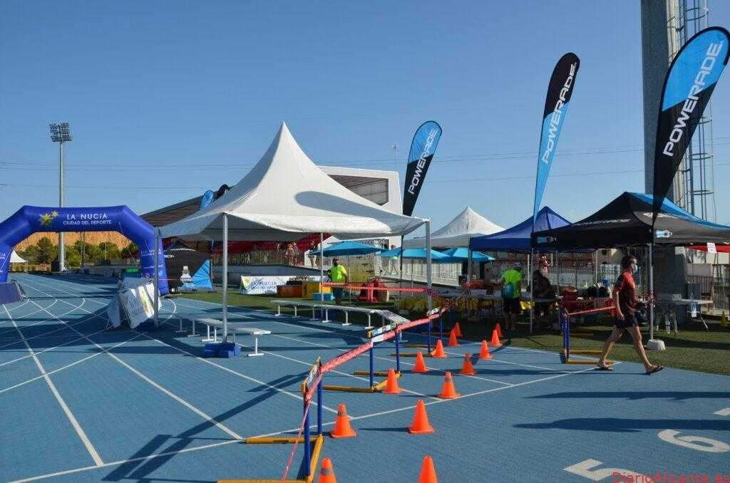 El Estadi Olimpic La Nucía acoge la salida este domingo de un Cross de 7km
