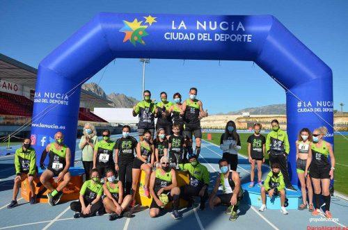 Luis Garcías del C.A. Elche Runners y María Devesa del C.A. Llebeig Xàbia vencen en la última prueba de Xtrem Running Race Circuit