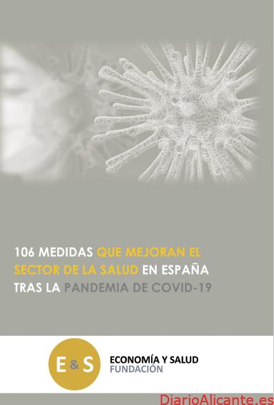 """""""106 medidas que mejoran el sector de la salud en España tras la pandemia de Covid-19"""""""