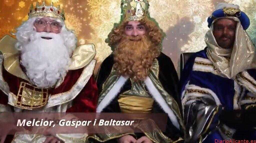 Los Reyes Magos visitarán a los y las peques de la Vila Joiosa por videoconferencia