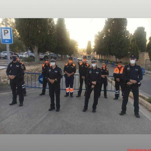 La Policía Local de la Vila lleva a cabo 4 intervenciones por incumplimiento de las medidas durante el fin de semana