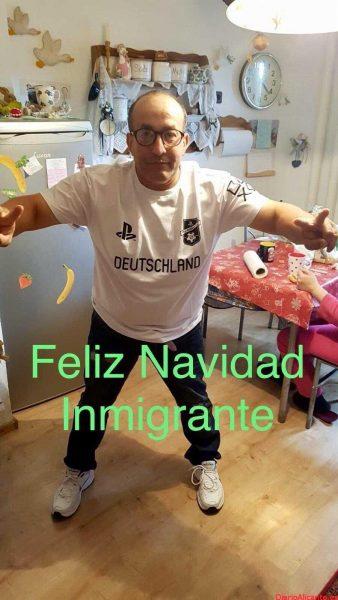 ¡Feliz Navidad!, amigos migrantes