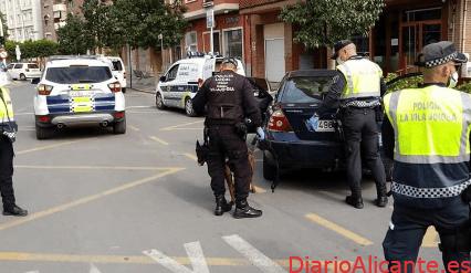 Detenida una pareja por una reyerta con heridas de arma blanca en la Vila Joiosa