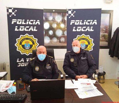 Policía Local y Guardia Civil de la Vila ponen en marcha el Plan de Prevención y Protección Antiterrorista