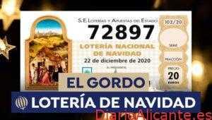 Resultado de la Lotería de Navidad 22 de Diciembre 2020