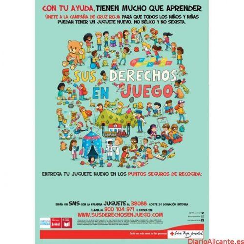 Cruz Roja Juventud recoge 65.000 juguetes para más de 52.000 niños y niñas vulnerables