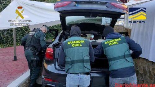 """Desarticulada una organización criminal dedicada al """"sicariato"""", cobro de deudas y al blanqueo de capitales procedente del narcotráfico"""