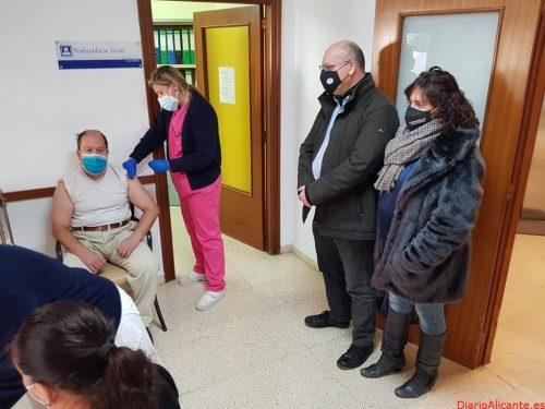 Empieza la Vacunación contra el COVID-19 en la Vila Joiosa