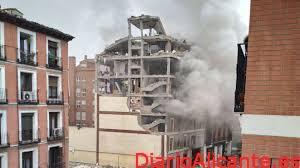 Explosión en edificio de Madrid, Con Varios Muertos