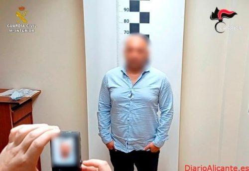 La Guardia Civil detiene en Toledo a una persona reclamada por las autoridades de Italia por tráfico de drogas a gran escala