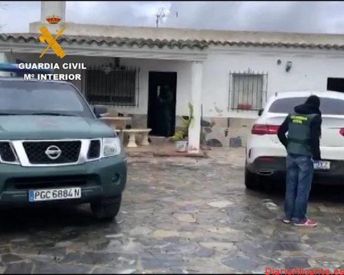La Guardia Civil detiene a 36 personas por introducir y distribuir hachís en Málaga y Cádiz