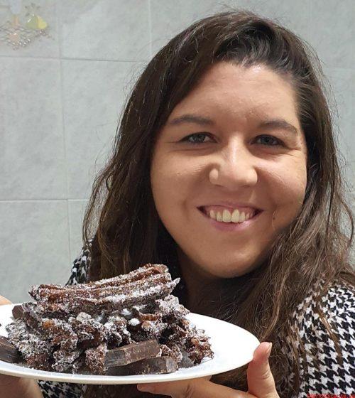 CHURROS DE CHOCOLATE