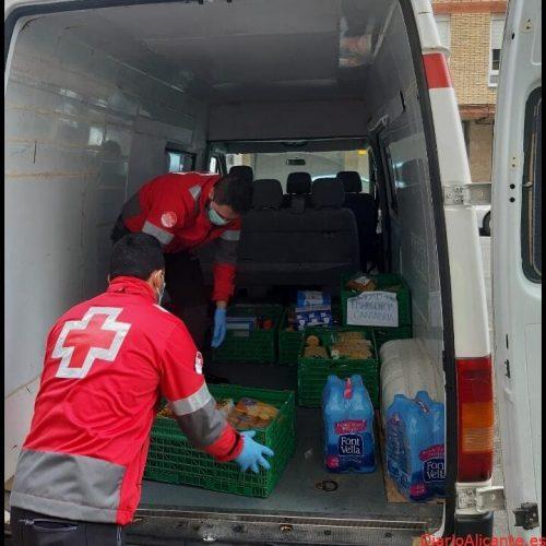 Cruz Roja distribuye 15,5 millones de kilos de alimentos a 757.200 personas vulnerables