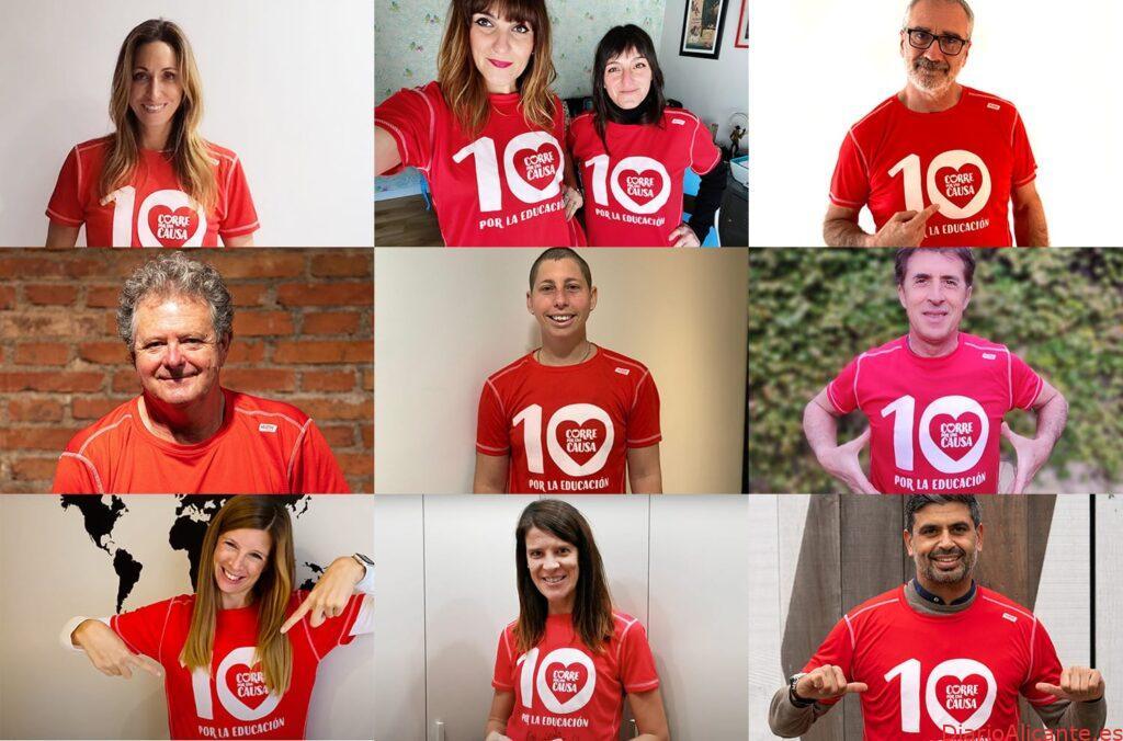 Embajadores de la Carrera Solidaria de Entreculturas unidos por una misma meta