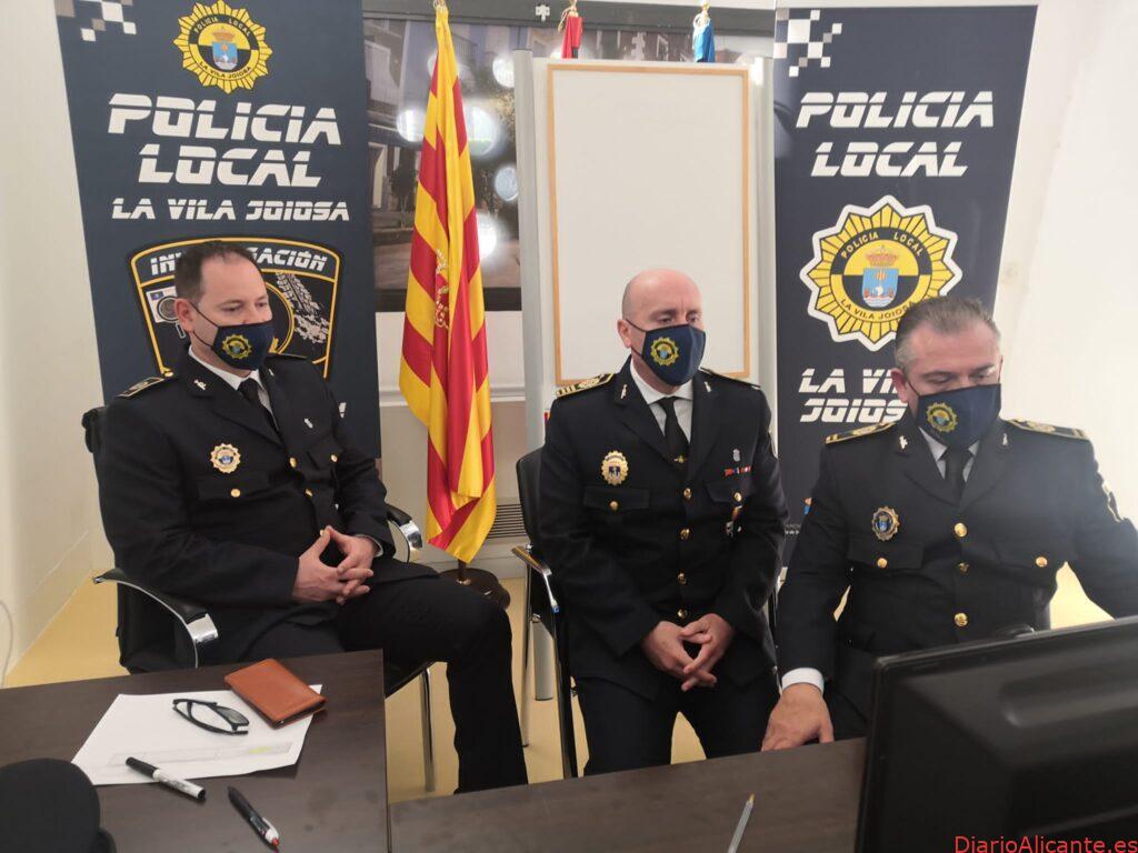 La policía de la Vila presente en la1ª Jornada Internacional sobre VMP de Murcia y el especial de Violencia de Género del INTOCC