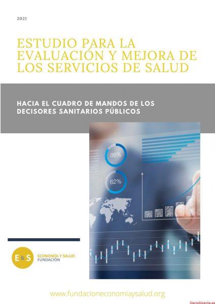 ESTUDIO PARA LAEVALUACIÓN Y MEJORA DELOS SERVICIOS DE SALUD DE LA FUNDACIÓN ECONOMÍA Y SALUD EN LA COMUNIDAD VALENCIANA