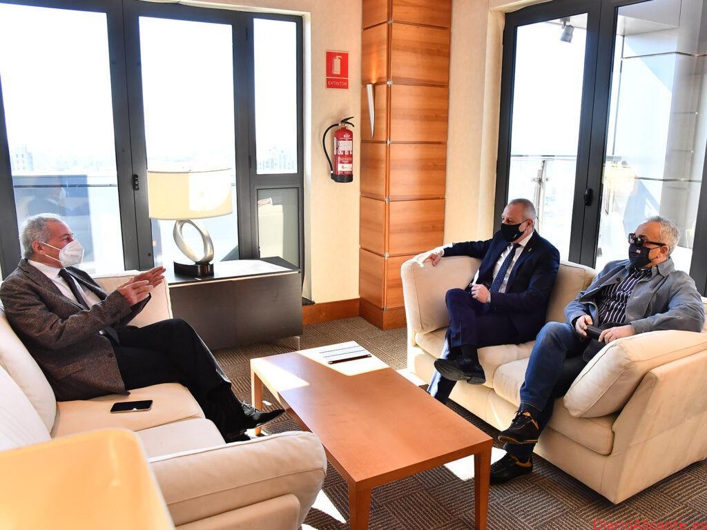 Reunión de trabajo del Mundial 2021 en Valencia