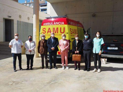Conselleria amplía a 24 horas el servicio de urgencias SAMU con base en la Vila Joiosa