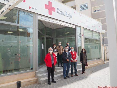 Cruz Roja estrena nueva sede en el centro de la Vila Joiosa