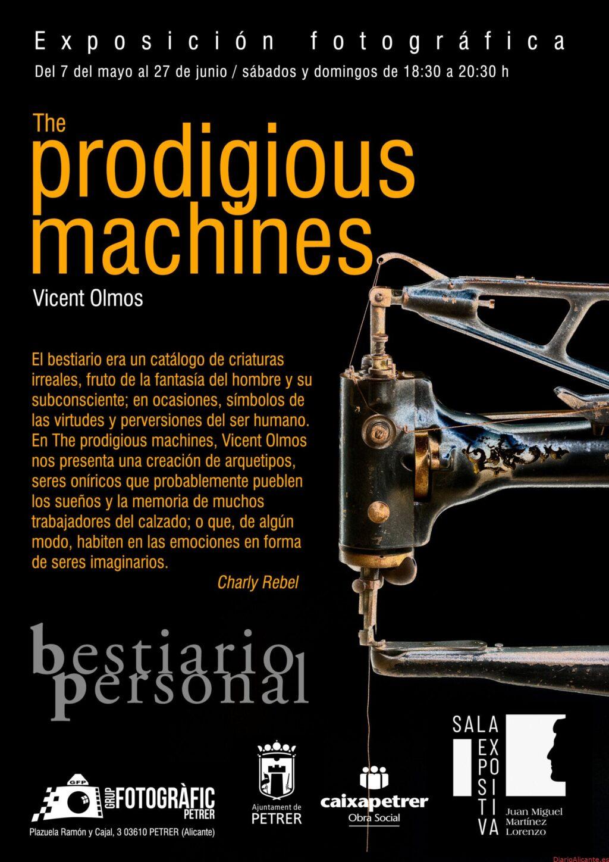 """EXPOSICIÓN FOTOGRÁFICA """"THE PRODIGIOUS MACHINES"""", A CARGO DE VICENT OLMOS"""