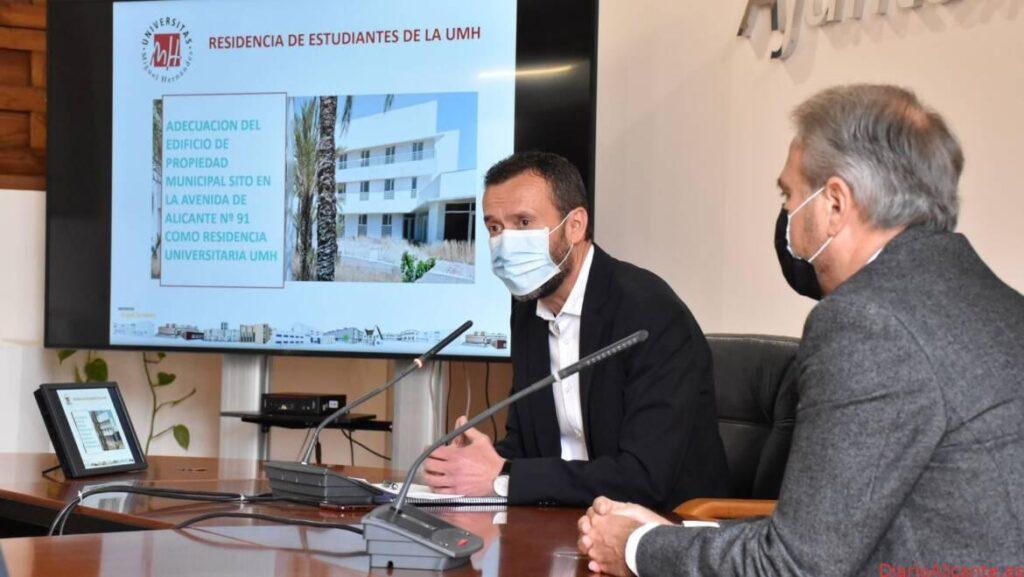 Acuerdo entre el Ayuntamiento y la UMHE para habilitar en el edificio del albergue juvenil
