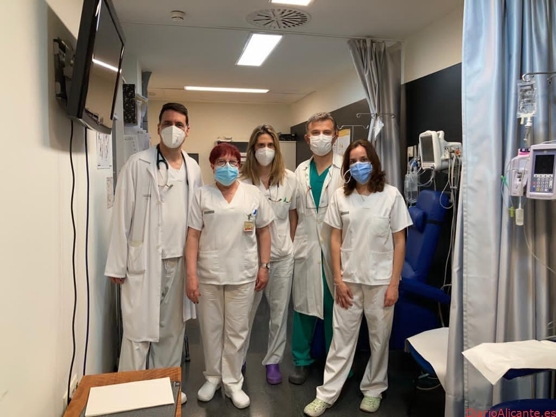 Cardiología del Hospital General Universitario de Elche recibe la acreditación de excelencia por su atención en insuficiencia cardiaca