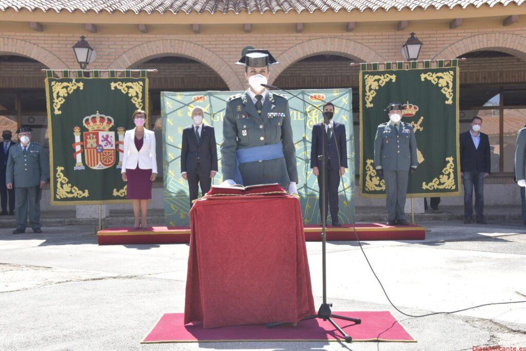 """Calvo: La teniente coronel jefa de la Comandancia de Teruel """"ha dado un importante paso al frente, y con ella toda la Guardia Civil"""""""