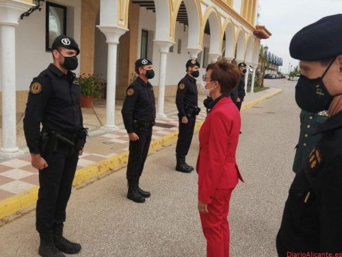 La Directora General se reúne con los responsables de la Guardia Civil en Andalucía