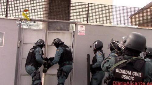 La Guardia Civil desarticula una red que había creado un sistema pionero de ocultación de droga para transportarla a cualquier punto de Europa