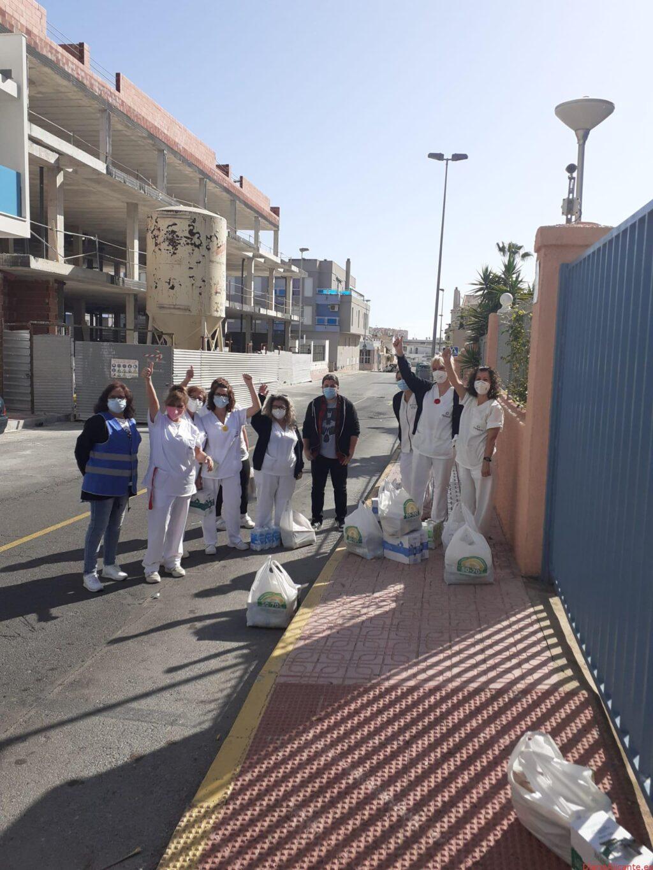 Las trabajadoras de limpieza de la Residencia de Torrevieja vuelven a la calle