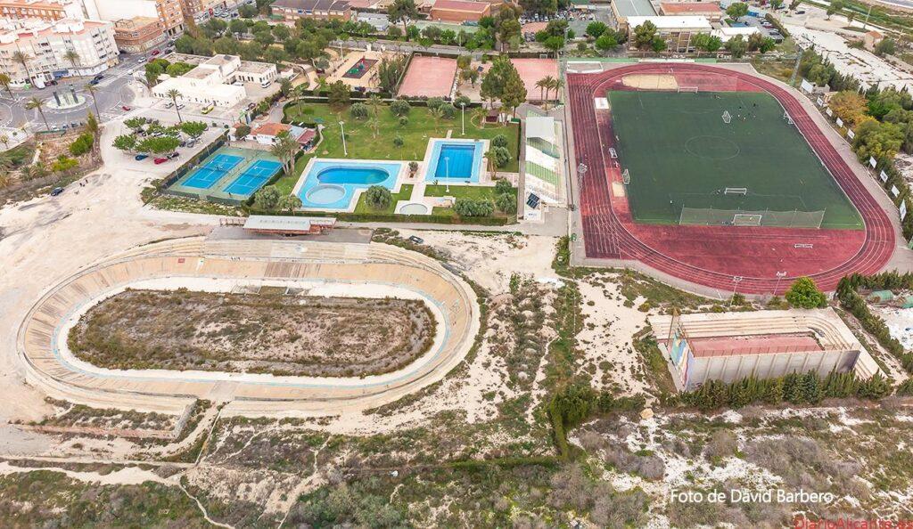 Novelda reanuda las obras para la finalización del Velódromo