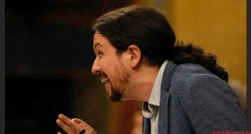 Pablo Iglesias crecido de chepa