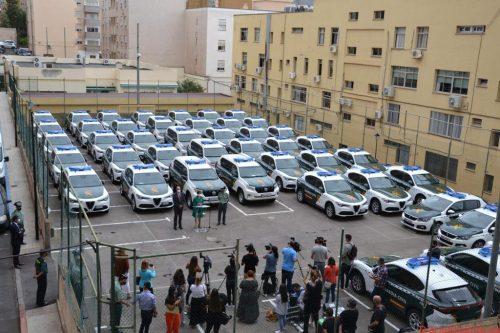 La Guardia Civil renueva en las Islas Canarias el 26% de la flota vehículos bicolores