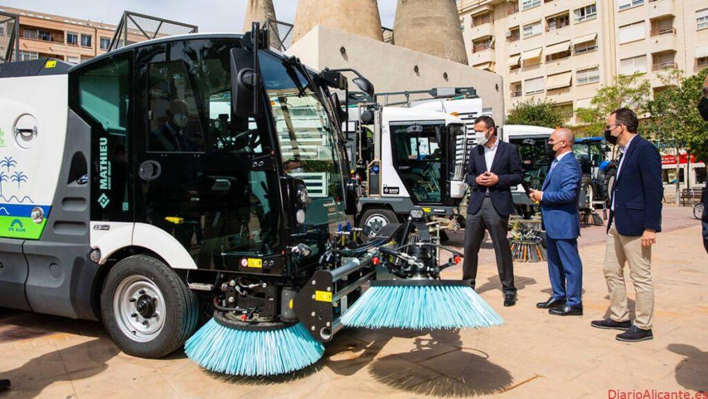 Arranca el nuevo servicio de Limpieza en Elche