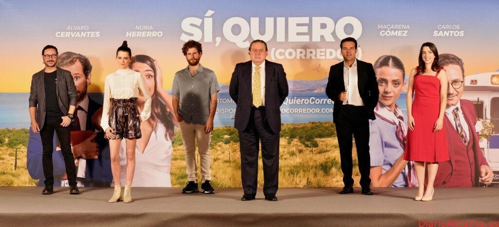El Movimiento #QuieroCorredor reclama la finalización del Corredor Mediterráneo a través de una comedia romántica