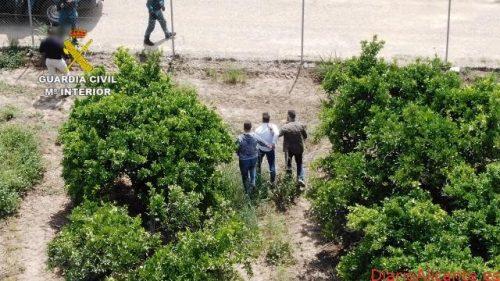 La Guardia Civil detiene en Sevilla a un narcotraficante huido desde hace 10 meses