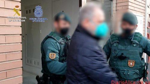 Desarticulada una organización criminal dedicada al tráfico de hachís e intervenidos 630 kilos de sustancia estupefaciente