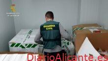 La Guardia Civil interviene más de 63.100 envases de productos cárnicos con etiquetados manipulados