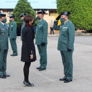 La directora general se reúne con los responsables de la Guardia Civil en la provincia de Granada