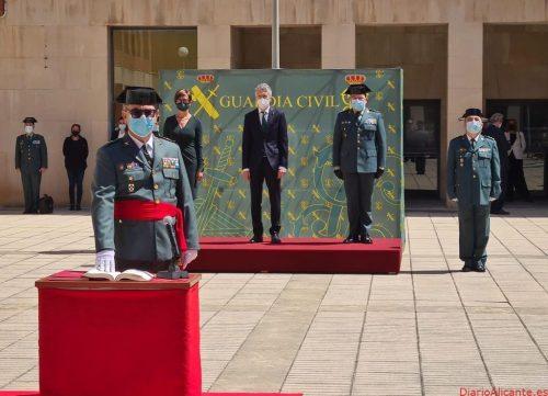 Grande-Marlaska preside la toma de posesión del nuevo jefe de la Guardia Civil en Cataluña