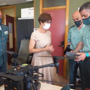 La directora general se reúne con los responsables de la Guardia Civil en Cantabria