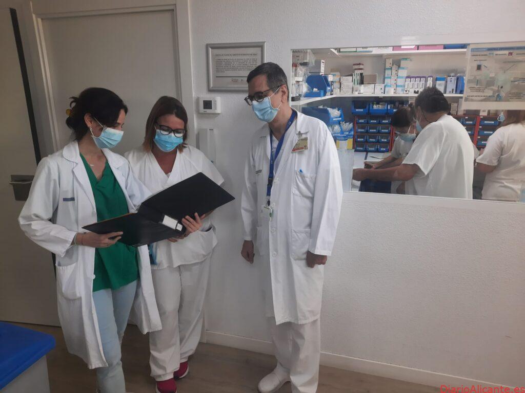 El Servicio de Neumología del Hospital General Universitario de Elche, distinguido por su calidad
