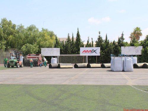 Se inician los trabajos de adecuación en las instalaciones deportivas municipales