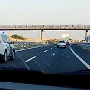 La Guardia Civil investiga al conductor de un camión que conducía de forma temeraria y se negó a realizar las pruebas de alcohol y drogas