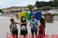 Petrer ya recoge el 21% de los residuos orgánicos en 4 meses desde el inicio de la implantación del contenedor marrón